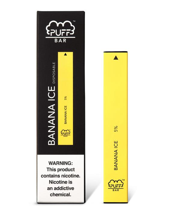 Another fine addition to the ice line, Puff Bar Banana Ice might seem like an odd combination, but Puff Bar's flavour formula ensures that it works perfectly. Offering the tropical aroma of bananas with a cool menthol undertone, this new take on an old standard tastes both natural and refreshing.