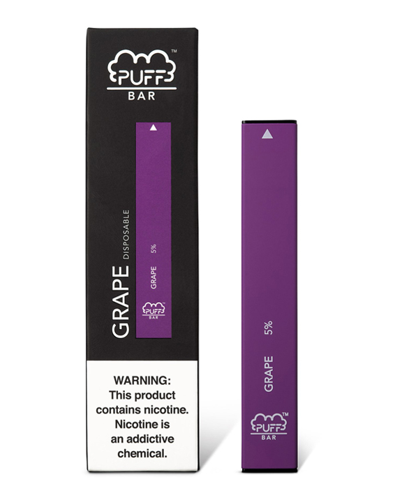 Although grape is most definitely the most dominant, this flavour also contains hints of mixed berries and menthol as an added bonus, giving Puff Bar Grape a unique twist that fruit lovers will definitely enjoy.