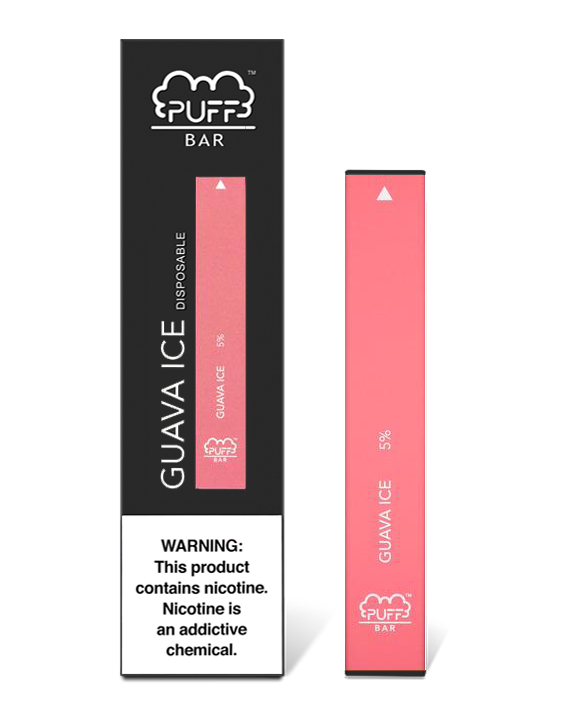 Banana Ice Puff Bar is a disposable vaping device that features a 280mAh battery, 1.3mL of banana ice flavoured salt nicotine juice that provides more than 300 puffs. The simplicity of a disposable device allows you to take it with you anywhere, and not having to think about its charge or keeping it safe.