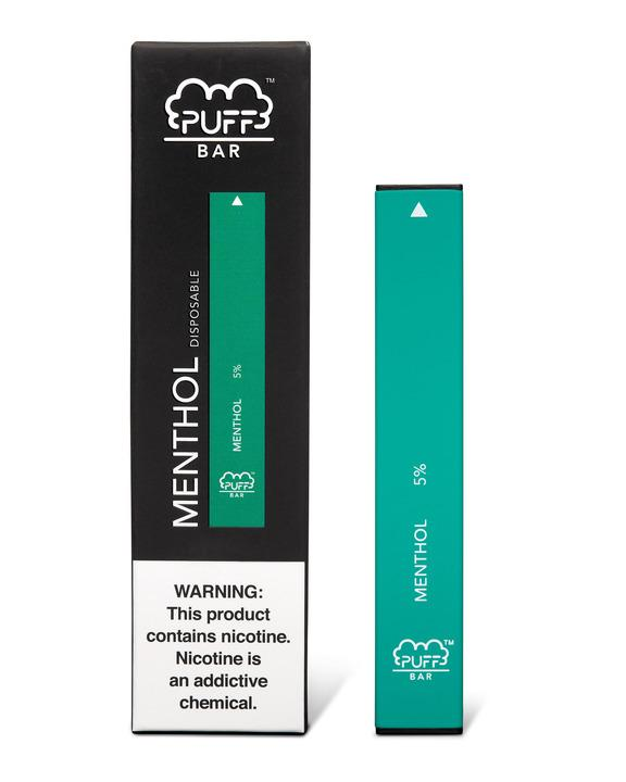 No vape pen product line would be complete without a simple spearmint menthol option. To that end, Puff Bar Menthol gives menthol smokers exactly what they're looking for. The icy spearmint sensation does a perfect job of bringing an authentic menthol cigarette experience, any time, anywhere.