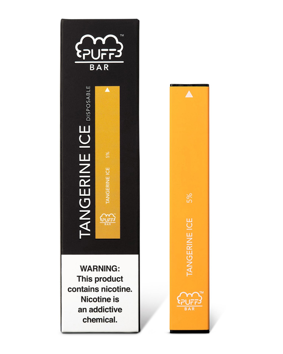 Another icy masterpiece, Puff Bar Tangerine Ice is a sweet, citrusy experience with an invigorating kick. On the inhale, you'll clearly taste the rich, strong tangerine aroma, followed by an icy menthol experience on the exhale.