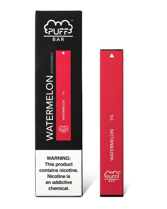 Watermelon Puff Bar may not be a real slice of the fruit, but its unique flavour cuts it close. Perfectly formulated to taste as authentic as possible, Puff Bar Watermelon provides a vaping experience that both tastes and feels like biting into a real watermelon slice.